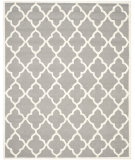 RugStudio presents Safavieh Cambridge Cam312d Dark Grey / Ivory Hand-Tufted, Better Quality Area Rug