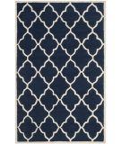 RugStudio presents Safavieh Cambridge Cam312m Navy / Ivory Hand-Tufted, Better Quality Area Rug