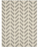 RugStudio presents Safavieh Cambridge Cam322g Grey - Ivory Hand-Tufted, Better Quality Area Rug
