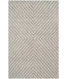 RugStudio presents Safavieh Cambridge Cam323a Grey - Taupe Hand-Tufted, Better Quality Area Rug