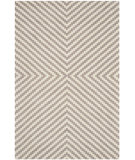 RugStudio presents Safavieh Cambridge Cam323g Grey / Ivory Hand-Tufted, Better Quality Area Rug