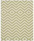 RugStudio presents Safavieh Cambridge Cam324n Ivory / Light Green Hand-Tufted, Better Quality Area Rug