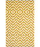 RugStudio presents Safavieh Cambridge Cam324u Ivory / Gold Hand-Tufted, Better Quality Area Rug