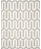 RugStudio presents Safavieh Cambridge Cam351e Light Blue / Grey Hand-Tufted, Better Quality Area Rug