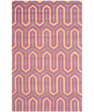 RugStudio presents Safavieh Cambridge Cam351f Fuchsia / Grey Hand-Tufted, Better Quality Area Rug