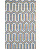 RugStudio presents Safavieh Cambridge Cam351m Navy / Grey Hand-Tufted, Better Quality Area Rug