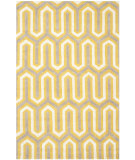 RugStudio presents Safavieh Cambridge Cam351q Gold / Grey Hand-Tufted, Better Quality Area Rug