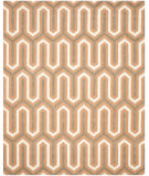 RugStudio presents Safavieh Cambridge Cam351y Orange / Grey Hand-Tufted, Better Quality Area Rug