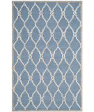 RugStudio presents Safavieh Cambridge Cam352m Navy / Ivory Hand-Tufted, Better Quality Area Rug
