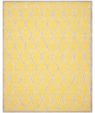 RugStudio presents Safavieh Cambridge Cam352q Gold / Ivory Hand-Tufted, Better Quality Area Rug