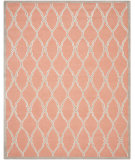 RugStudio presents Safavieh Cambridge Cam352w Coral / Ivory Hand-Tufted, Better Quality Area Rug