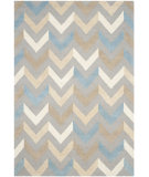 RugStudio presents Safavieh Cambridge Cam580a Grey / Ivory Hand-Tufted, Better Quality Area Rug