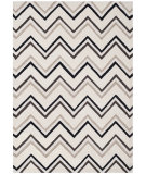 RugStudio presents Safavieh Cambridge Cam581b Ivory / Black Hand-Tufted, Better Quality Area Rug