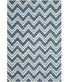 RugStudio presents Safavieh Cambridge Cam581c Navy / Ivory Area Rug