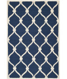 RugStudio presents Safavieh Cambridge Cam710m Navy / Ivory Hand-Tufted, Good Quality Area Rug