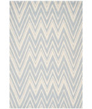 RugStudio presents Safavieh Cambridge Cam711b Blue - Ivory Hand-Tufted, Good Quality Area Rug