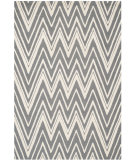 RugStudio presents Safavieh Cambridge Cam711d Dark Grey / Ivory Hand-Tufted, Good Quality Area Rug