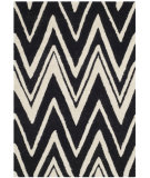RugStudio presents Safavieh Cambridge Cam711k Black - Ivory Hand-Tufted, Good Quality Area Rug
