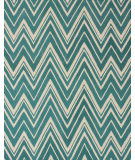 RugStudio presents Safavieh Cambridge Cam711t Teal / Ivory Hand-Tufted, Good Quality Area Rug