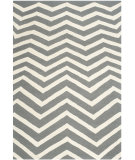 RugStudio presents Safavieh Cambridge Cam714d Dark Grey / Ivory Hand-Tufted, Good Quality Area Rug