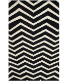 RugStudio presents Safavieh Cambridge Cam714k Black - Ivory Hand-Tufted, Good Quality Area Rug