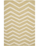 RugStudio presents Safavieh Cambridge Cam714l Light Gold / Ivory Hand-Tufted, Good Quality Area Rug