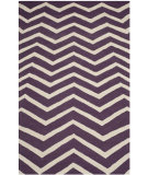 RugStudio presents Safavieh Cambridge Cam714p Purple / Ivory Hand-Tufted, Good Quality Area Rug