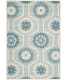 RugStudio presents Safavieh Cambridge Cam715b Blue / Ivory Hand-Tufted, Good Quality Area Rug