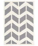 RugStudio presents Safavieh Cambridge Cam718d Dark Grey - Ivory Hand-Tufted, Better Quality Area Rug