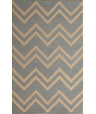 RugStudio presents Safavieh Cambridge CAM824A Grey / Beige Hand-Tufted, Good Quality Area Rug