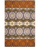 RugStudio presents Safavieh Cedar Brook Cdr127c Orange / Red Flat-Woven Area Rug