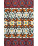 RugStudio presents Safavieh Cedar Brook Cdr127d Red / Blue Area Rug