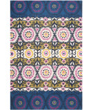 RugStudio presents Safavieh Cedar Brook Cdr127e Blue / Pink Area Rug