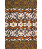 RugStudio presents Safavieh Cedar Brook Cdr127h Olive / Burgundy Flat-Woven Area Rug