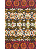 RugStudio presents Safavieh Cedar Brook Cdr127j Red / Orange Flat-Woven Area Rug