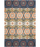 RugStudio presents Safavieh Cedar Brook Cdr127l Lilac / Orange Area Rug