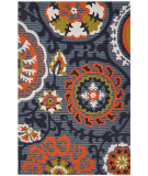 RugStudio presents Safavieh Cedar Brook Cdr130a Blue / Orange Woven Area Rug