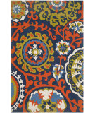 RugStudio presents Safavieh Cedar Brook Cdr132a Light Blue / Orange Woven Area Rug