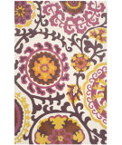 RugStudio presents Safavieh Cedar Brook Cdr132c Purple Flat-Woven Area Rug