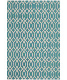 RugStudio presents Safavieh Cedar Brook Cdr141e Light Teal / Ivory Woven Area Rug