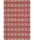 RugStudio presents Safavieh Cedar Brook Cdr141g Coral / Ivory Woven Area Rug