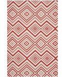 RugStudio presents Safavieh Cedar Brook Cdr142c Ivory / Coral Woven Area Rug
