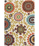 RugStudio presents Safavieh Cedar Brook Cdr144a Ivory / Orange Woven Area Rug