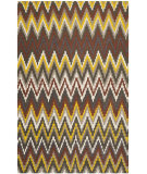 RugStudio presents Safavieh Cedar Brook Cdr145a Brown / Citron Woven Area Rug