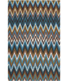 RugStudio presents Safavieh Cedar Brook Cdr145d Green / Blue Woven Area Rug