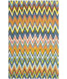 RugStudio presents Safavieh Cedar Brook Cdr145e Blue / Orange Flat-Woven Area Rug