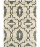 RugStudio presents Safavieh Chatham Cht632a Beige / Grey Hand-Tufted, Good Quality Area Rug
