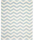 RugStudio presents Safavieh Chatham CHT715B Blue / Ivory Hand-Tufted, Good Quality Area Rug