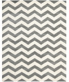 RugStudio presents Rugstudio Sample Sale 80403R Dark Grey / Ivory Hand-Tufted, Good Quality Area Rug