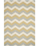 RugStudio presents Safavieh Chatham Cht715m Grey / Gold Hand-Tufted, Better Quality Area Rug